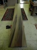 Solid poplar board