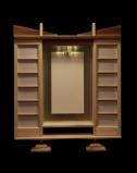 Simple Doors on Body Style C, showing size of Gohonzon