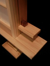 Tenon detail on Belt