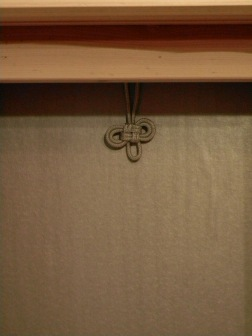 Omamori Knot replaces need for metal hook