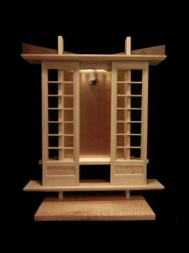 Construction of Body Style C with Panel Doors in Maple