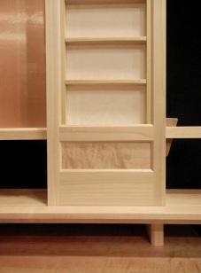 Panel Doors with Maple Burr